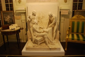 The Louisiana Purchase Bas Relief.