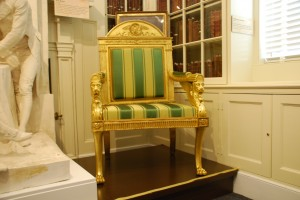 The White House Chair.