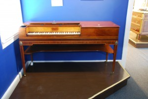Front view of the Pianoforte.