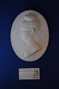 Bas Relief of Maria Hester Monroe.